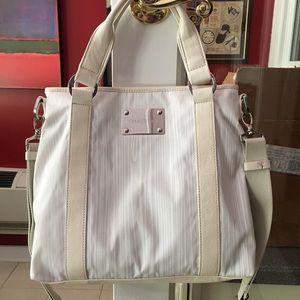 CERRUTI 1880 Summer White Shoulder Bag! New!
